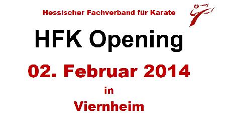 HFK Opening 2014