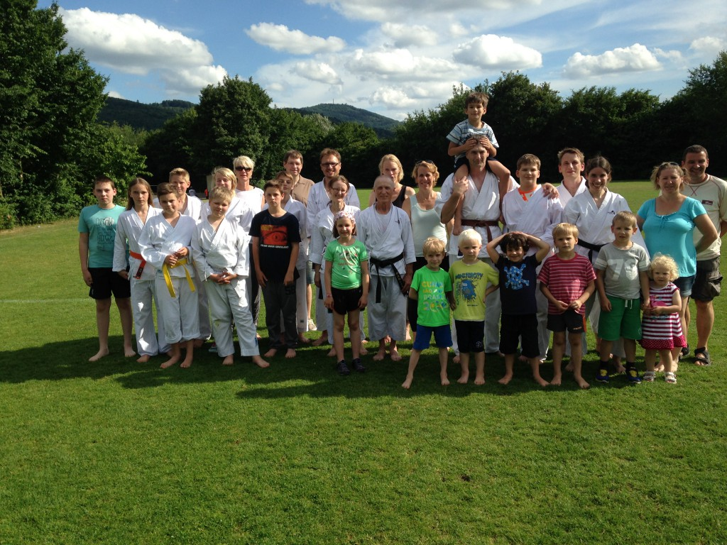 Karate_Trainingstag 2015